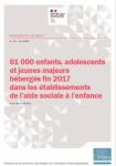 61 000 enfants, adolescents et jeunes majeurs hébergés fin 2017 dans les établissements de l'aide sociale à l'enfance