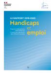 Handicaps et emploi - Rapport thématique IGAS 2019-2020