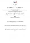 Rapport d'information relatif à l'intégration professionnelle des demandeurs d'asile et des réfugiés