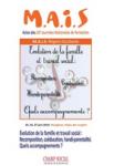 Evolution de la famille et travail social : Recomposition, coéducation, handi-parentalité.