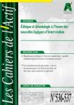 Conflits éthiques et nouvelles logiques d'intervention (dossier)