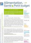 Alimentation santé & petit budget