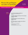 Revue des politiques sociales et familiales