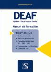 DEAF - MANUEL DE FORMATION.