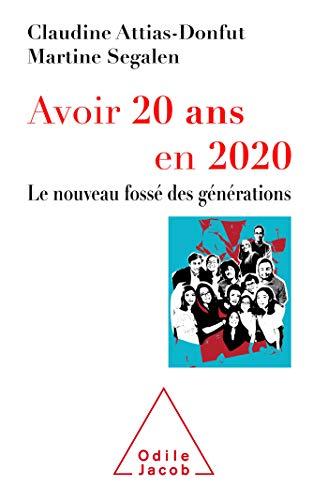 Avoir 20 ans en 2020